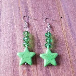Jewelry - Sailor Jupiter Star Earrings/Sailor Jupiter